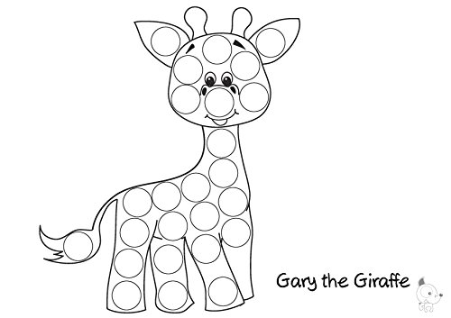 Bingo Dot Marker Coloring Pages Sketch Coloring Page