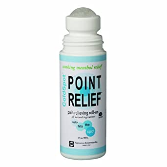 Point Relief 11-0720-1 ColdSpot Roll-On, 3 oz Bottle