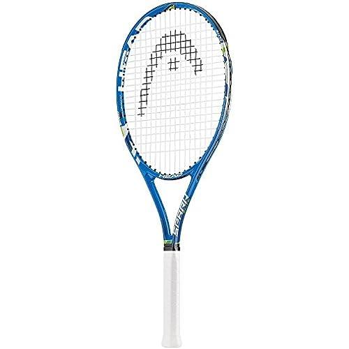 HEAD(헤드) 테니스 라켓 입문용 SPARK ELITE (켕김(팽팽하게 땅김/의욕) 수확) 블루 234656-234656 (2016-04-14)
