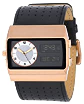 Vestal Unisex MCW030 Monte Carlo Black Rose Gold Watch