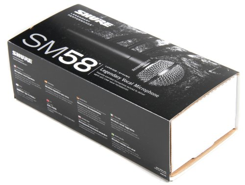 Shure SM58-LC Cardioid Vocal Microphone without Cable