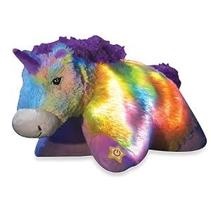 "Pillow Pets® Glow Pets Rainbow Unicorn 16"" from Pillow Pets"
