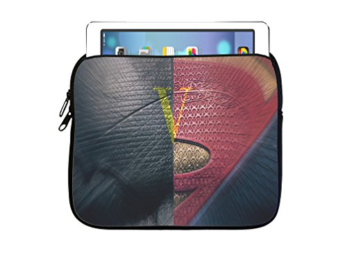 Hero Symbols Design Print Image 7.5x8 inch Neoprene Zippered Tablet Sleeve Bag by Trendy Accessories for iPad, Kindle, Tab, Note, Air, Mini, Fire (Kindle Fire Vs Ipad Mini compare prices)
