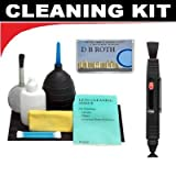Lenspen Lens Cleaning System + Hurricane Blower + Deluxe 5-Piece Cleaning Kit For The Olympus E-420, E-410, E-400 Digital Cameras