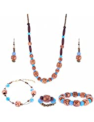 ARC 5 Piece Wooden Combo Jewellery Set (01212044)