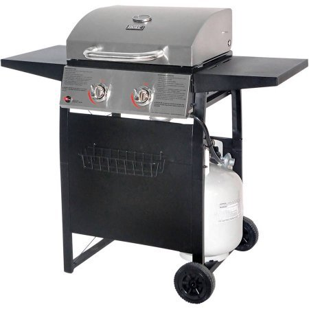 3-Burner Stainless Steel Gas Grill, 340 sq in Cooking Surface (20 burgers) (Jenn Air Natural Gas Conversion compare prices)