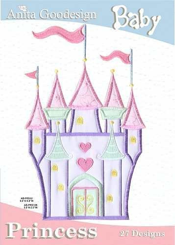 Anita Goodesign Embroidery Design Pack Cd Baby Princess front-751672