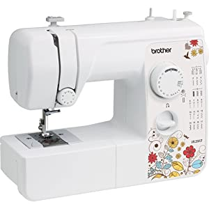 Brother Sewing Machine JX2517 Lightweight - 17 Stitch - 4 Step Buttonholer from Brother Sewing