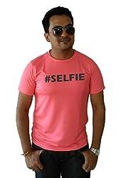 LetsFlaunt #Selfie T-shirt Guys Salmon Dry-Fit-Medium Nw