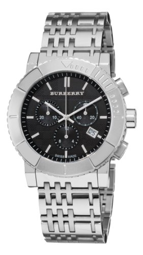 Burberry Men's BU2304 Trench Chronograph Black Chronograph Dial Watch