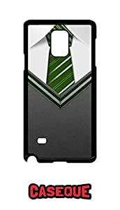 Caseque Gentleman Hogwards Extreme Back Shell Case Cover for Samsung Galaxy Note 4
