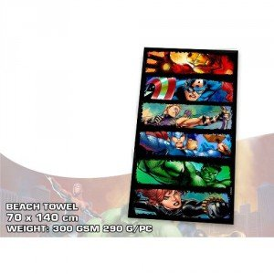 marvel-comics-the-avengers-serviette-70-x-140-cm