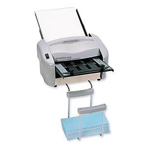 Martin Yale RapidFold Automatic Desktop Folder, Handles digital paper stocks, Grey (PREP7200)