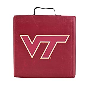BSI Home Office Car Travel Pad Virginia Tech Hokies Sports Team Logo Seat Cushion by BSI Products inc