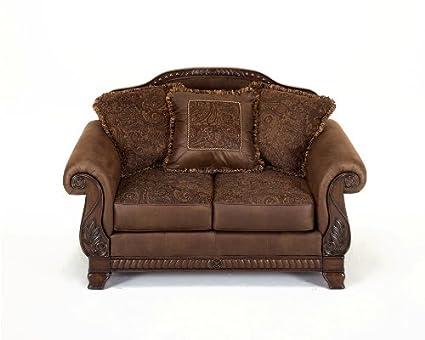 Ashley Furniture Bradington - Truffle Loveseat 1540035