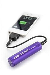 Veho VPP-002-SSM Pebble Smartstick Emergency 2200mAh Portable Battery for iPhone/Blackberry/Samsung/HTC/Nokia (Purple)