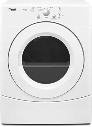 Amana 6.7 Cubic Foot Super Capacity Gas Dryer, NGD7300WW, White