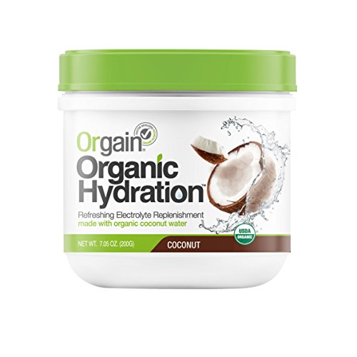 Orgain Organic Hydration Powder, Coconut, 7.05 Ounce, 1 Count (Coconut Hydration Mix compare prices)