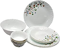 La Opala 27 Pc Dinner Set - Floral Magic
