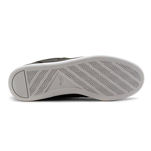 Lacoste Men's Codecasa 316 1 Spm Boat Shoe, Black, 10.5 M US