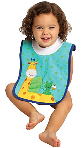 AM PM Kids! Pullover Bib with Washcloth, Giraffe стойка am pm inspire с туалетной щеткой хром a5033464