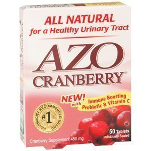 Special Pack Of 5 Azo Cranberry 450Mg 50 Tablets