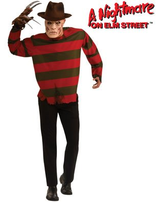 Adult Freddy Krueger Mens Halloween Costume