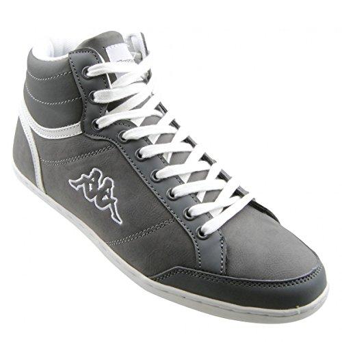 Kappa, Sneaker uomo Grigio Grigio (1610 grigio/bianco), Grigio (Grigio (1610 grigio/bianco)), 40