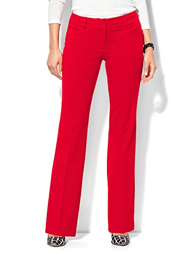 New York & Co. Women's - Signature - Bootcut - 10 Flamenco Red (New York And Company Shoes compare prices)