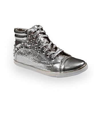 Ladies Lace-up Shiny Shoes