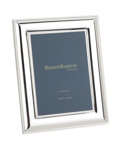 Reed  Barton Newton Tarnish-Resistant Silverplated 5 Inch by 7 Inch Picture FrameB001D4Z87W