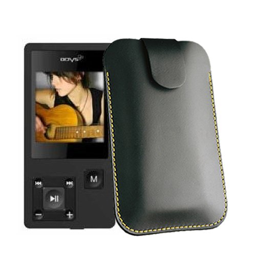 Hülle für Odys MP-X26 Musik Player Tasche Case Etui Ledertasche für MP3-MP4-Audio-Media-Player
