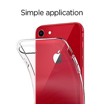 【Spigen】 スマホケース iPhone8 ケース/iPhone7 ケース 対応 TPU 全面クリア 超薄型 超軽量 リキッド・クリスタル 042CS20435 (クリスタル ・クリア)