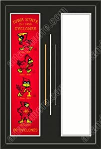 Iowa State Cyclones & Your Choice of other Team Heritage Banner Framed-House... by Art and More, Davenport, IA