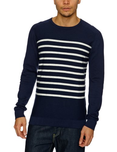 Selected Change Crew Neck Men's Jumper Maritime Navy Small