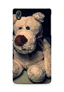 AMEZ designer printed 3d premium high quality back case cover for Sony Xperia Z2 (teddy bear)