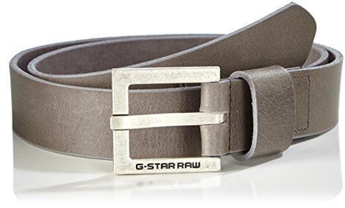 G-Star Duko belt-Cintura Uomo    Gris (Gs Grey/antic Silver 5256) 100 cm