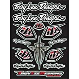 Troy Lee Designs Race Team Logo Sticker Sheet - 10