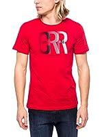 Cerruti Camiseta Manga Corta CMM8022450 C0842 (Rojo)