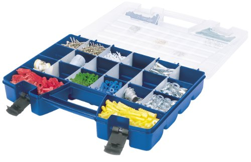 Images for Akro-Mils 06118 Plastic Portable Hardware and Craft Parts Organizer, Large, Blue