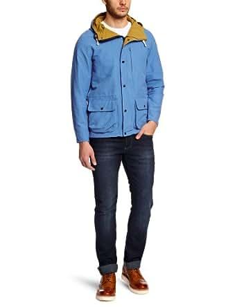 SELECTED HOMME Herren Jacke 16029561 Brighton Jacket, Gr. 48 (S), Mehrfarbig (Campanula)