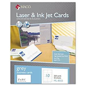Amazon Microperforated Business Cards 2 x 3 1 2