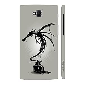 Enthopia Designer Hardshell Case Dragon Ink Back Cover for LG Pro Lite