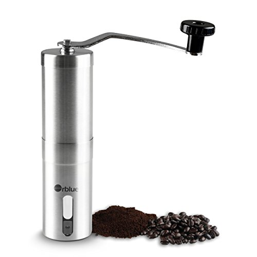 Best Review Of ORBLUE Ceramic Burr Manual Coffee Grinder