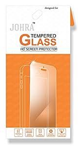 Johra Real HD+Tempered Glass for Intex Aqua 4G Strong Tempered Glass