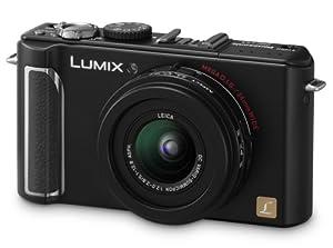 Panasonic Lumix DMC-LX3 Digitalkamera (10 Megapixel, 2.5-fach opt. Zoom, 7,6 cm (3 Zoll) Display, Bildstabilisator) schwarz