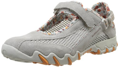 Allrounder By Mephisto - Niro C.Suede 05/ Open Mesh 12 Cloudburst/Cool Grey, Scarpe Sportive Outdoor da donna, grigio (cloudburst/cool grey), 36