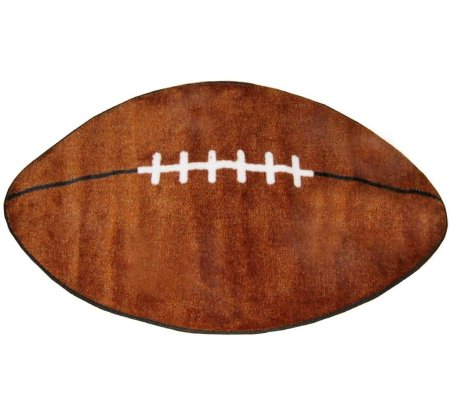 L.A. Rugs Football Kids Area Rug (Feet Shaped Rug compare prices)