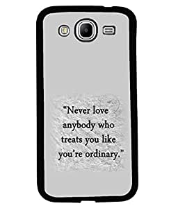 printtech Cool Quotes Life Back Case Cover for Samsung Galaxy Mega 5.8 i9150::Samsung Galaxy Mega 5.8 i9152