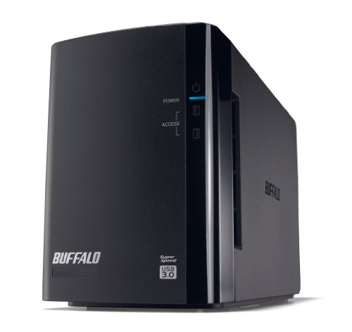 BUFFALO ミラーリング機能搭載 USB3.0用 外付けハードディスク4TB HD-WL4TU3/R1